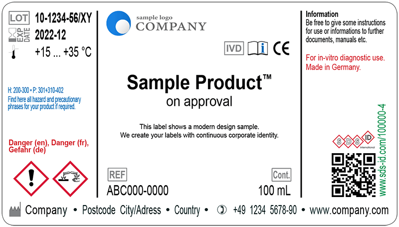 Sample Label